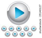 set of buttons for web design....   Shutterstock .eps vector #25140127