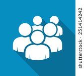 user group network icon. modern ... | Shutterstock .eps vector #251414242