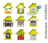 icons installation of... | Shutterstock . vector #251428252