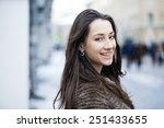 young beautiful woman in... | Shutterstock . vector #251433655