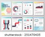 set of infographic vector ... | Shutterstock .eps vector #251470435