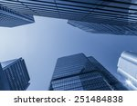 hong kong central district... | Shutterstock . vector #251484838