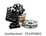 film directors clapperboard... | Shutterstock . vector #251490802