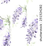 a seamless watercolor floral... | Shutterstock . vector #251524282