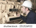 a generator  in a hospital with ... | Shutterstock . vector #251526922