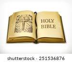 bible  vector illustration | Shutterstock .eps vector #251536876