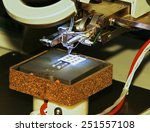 the microscope is used to... | Shutterstock . vector #251557108