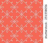 vector seamless pattern. linear ... | Shutterstock .eps vector #251558056