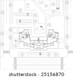 general layout | Shutterstock .eps vector #25156870