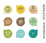 modern badges collection | Shutterstock .eps vector #251576056