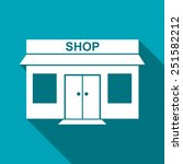 shop icon | Shutterstock .eps vector #251582212