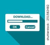 download window progressbar