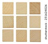 Blank Wood Scrabble Pieces...