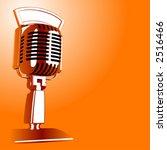 hot vector retro microphone   Shutterstock .eps vector #2516466