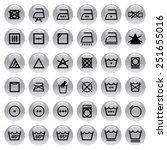 sign wash symbol | Shutterstock .eps vector #251655016