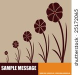 abstract floral background | Shutterstock .eps vector #25172065