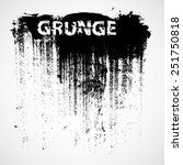 Stock vector grunge urban background texture vector dust overlay distress grain simply place illustration over 251750818