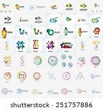 abstract company logo vector...   Shutterstock .eps vector #251757886