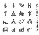 business people working action... | Shutterstock .eps vector #251826508