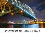 Sydney Skyline And Harbor...