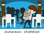 heavily researched | Shutterstock .eps vector #251848165