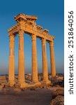 temple of apollo   side turkey  | Shutterstock . vector #251864056