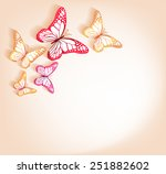 Paper Cut Butterflies...