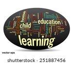 vector concept or conceptual...   Shutterstock .eps vector #251887456