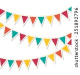 set of multicolored flat... | Shutterstock . vector #251892796