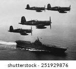 F4u's  Corsairs  Returning Fro...