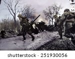 Постер, плакат: German soldiers of the