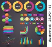 vector illustration of a set of ...   Shutterstock .eps vector #251934466