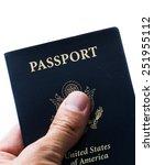 close up of a hand holding an...   Shutterstock . vector #251955112