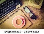 Vintage Typewriter And...
