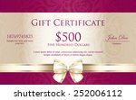 Luxury Gift Certificate With...