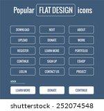style flat ui kit icons...