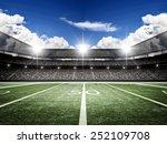 american football satdium | Shutterstock . vector #252109708
