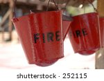 Fire Buckets Hang Over The Wel...