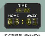 minimalistic illustration of a... | Shutterstock .eps vector #252123928