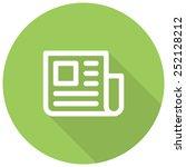 press release  newspaper... | Shutterstock .eps vector #252128212