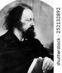 Small photo of Lord Alfred Tennyson, 1809 - 1892.
