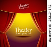 Vector Background With Theater...