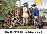 The Landing Of Columbus ...