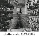 workman operating an industrial ... | Shutterstock . vector #252140065