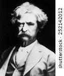 mark twain. | Shutterstock . vector #252142012