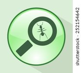 magnifying glass.vector... | Shutterstock .eps vector #252154642