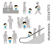 child safety missing negligence ... | Shutterstock .eps vector #252167572