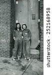 canada   circa 1940s ... | Shutterstock . vector #252168958
