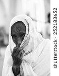 aksum  ethiopia   sep 24  2011  ... | Shutterstock . vector #252183652