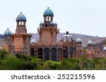 panorama of sun city  the... | Shutterstock . vector #252215596